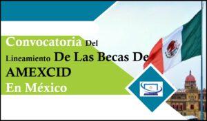 Lineamientos De Las Becas De AMEXCID En México